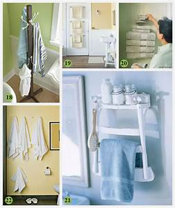 28 creative bathroom storage ideas With 7 creative ideas for bathroom towel storage