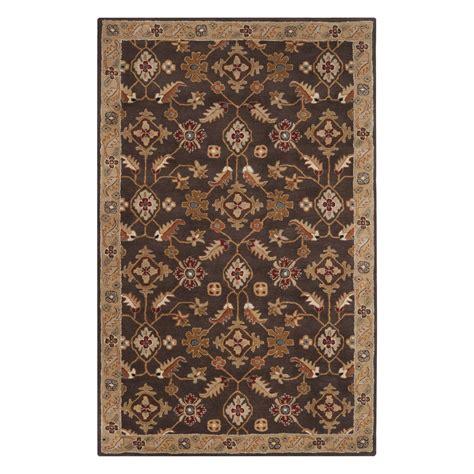 lowes area rugs surya cae1083 caesar espresso area rug lowe s canada