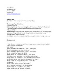 front office manager resume format front desk dental resume sales dental lewesmr