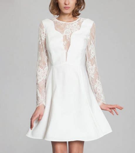 robe mariage civil hiver robe de mariée pour mariage civil en hiver