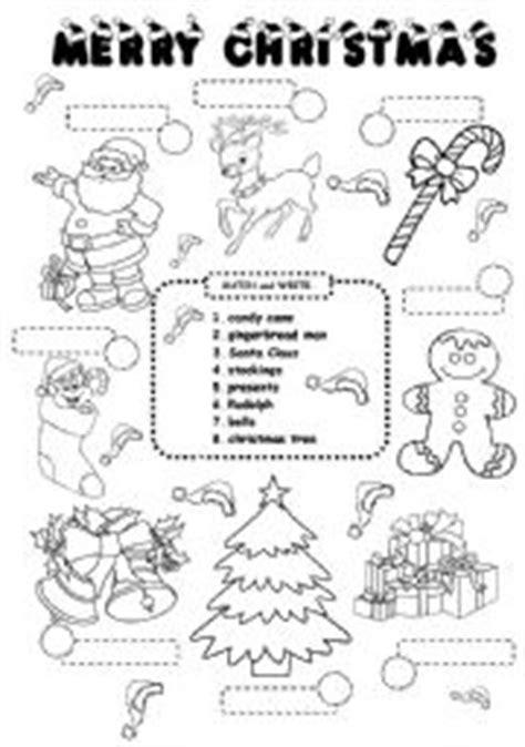 christmas worksheet esl worksheet by iamirish21