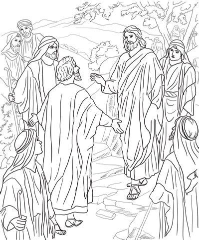 peters confession  christ coloring page supercoloringcom