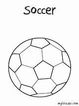 Coloring Soccer Ball Balls Davidson Harley Popular sketch template