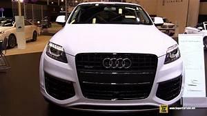 Audi Q7 Sport : 2015 audi q7 sport quattro exterior and interior walkaround 2015 montreal auto show youtube ~ Medecine-chirurgie-esthetiques.com Avis de Voitures
