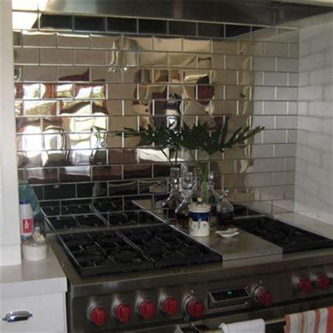 mirror tiles kitchen backsplash 1000 images about bling backsplash on metals 7531