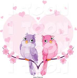 Purple Heart and Doves Clip Art