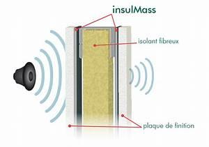 Isolation Phonique Cloison : isolation acoustique mur beton ~ Melissatoandfro.com Idées de Décoration