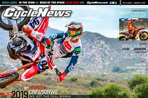 Cycle News Magazine #2: '19 Honda CRF450RWE Test, Arizona Supercross... - Cycle News