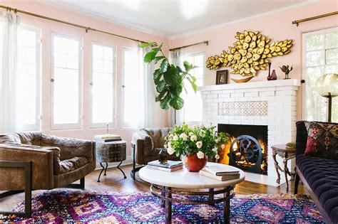A Designer's Eclectic, Bohemian California House-home