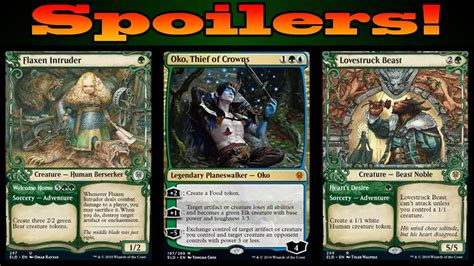 Magic the gathering, magic cards, singles, decks, card lists, deck ideas, wizard of the coast, all of the cards you need at great prices are available at cardkingdom. Throne of Eldraine Card and Mechanic Partial Spoilers! - YouTube