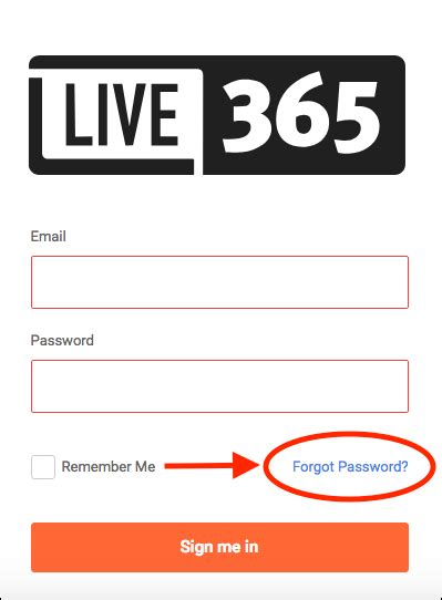 Live 365 Login by How Do I Update My Live365 Login Email And Password Live365