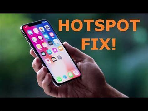 iphone hotspot not working iphone x personal hotspot not working contact carrier Iphon