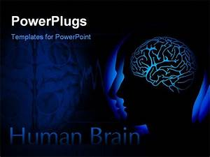 best powerpoint template profile of human head with With brain powerpoint templates free download
