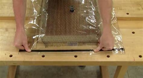 panel veneering   simple vacuum bag woodworking blog  plans