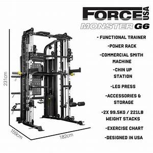 Force Usa Monster G6 8 In 1 Strength Training System