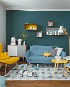Deco Vintage Salon : shake my blog get the look un salon vintage en jaune ~ Melissatoandfro.com Idées de Décoration