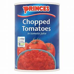 Princes Chopped Tomatoes in Tomato Juice 400g | Food ...