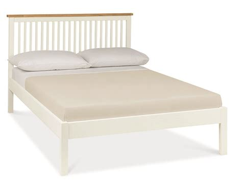 Atlanta Two-tone (low Foot End) Wooden Bed By Bentley