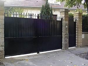 Portail En Fer Lapeyre : portail et portillon en fer forg occasion portail ~ Premium-room.com Idées de Décoration