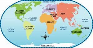 WeirdandWonderfulWiki - Continents and Oceans