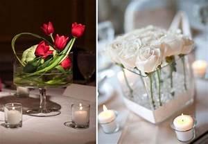 Centrotavola Di Matrimonio Con Candele E Fiori Idee Per