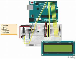 Rotary Encoder Wiring Diagram