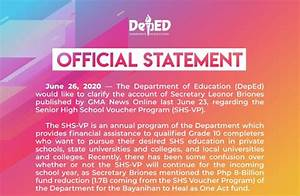 Deped Official Statement