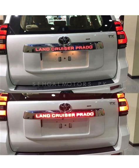 buy toyota land cruiser prado led trunk lid cover  pakistan