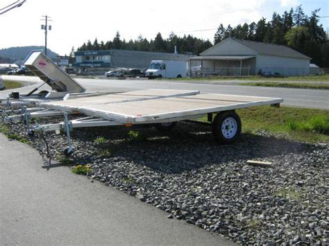 aluminum sled deck weight all aluminum 8x12 deck sled deck outside metro