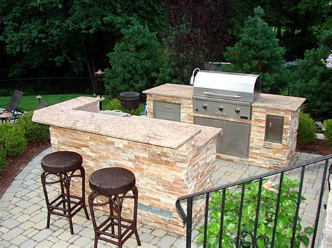 Small Outdoor Kitchen Projects « Outdoor Living Of New Jersey