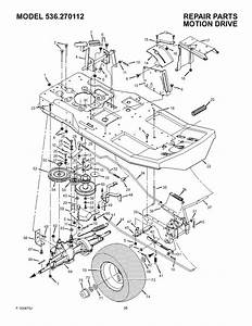 Craftsman 536270112 User Manual Rear Engine Rider Manuals