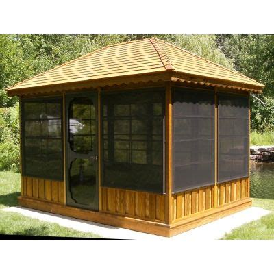 screened pavilion gazebo sale gazebo kit gazebos