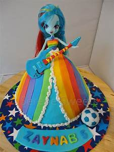 205 best my little pony birthday for haileybug images on With rainbow dash cake template