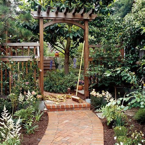 build a traditional entry arbor gardens backyards and