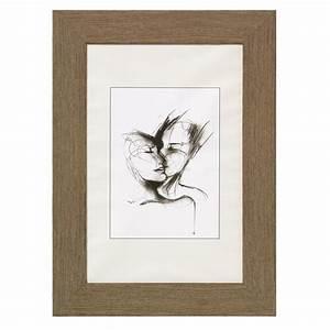 Cadre Bois 50x70 : cadre photo en bois 30x40 cm ~ Teatrodelosmanantiales.com Idées de Décoration