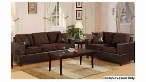 Bobkona seattle microfiber sofa and loveseat 2 piece set for 6 piece microfiber sectional sofa