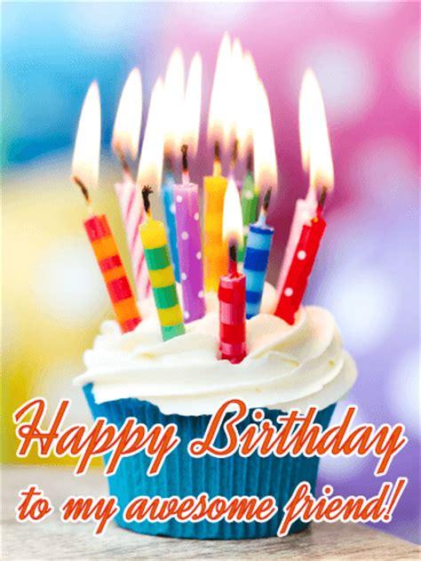 awesome friend happy birthday card birthday