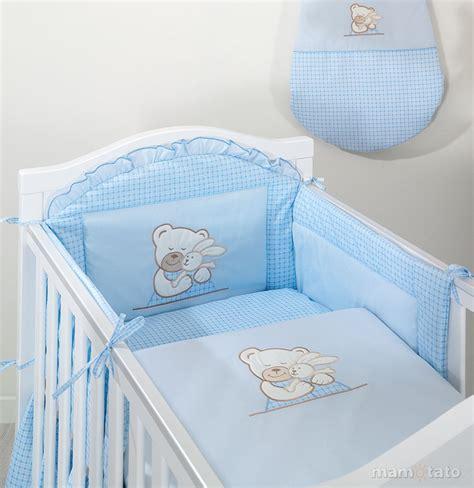 linge de lit bebe pas cher parure chambre b 233 b 233 bleu 12 pi 232 ces brod 233 e ours lapin bleu