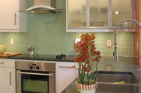 green kitchen backsplash tile green glass subway tile in surf modwalls lush 3x6 tile