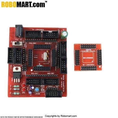 Robomart Atmega Development Board