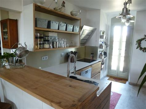 plan de travail cuisine inox sur mesure cuisiniste avignon 84 cuisine en chêne plan travail