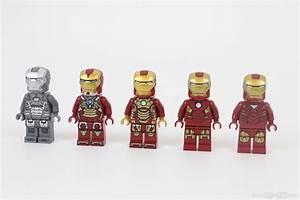 LEGO Iron Man Mark 6,7,8 and Mk 42 (9) and War Machine ...