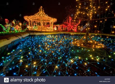 brookside gardens christmas lights display in wheaton md
