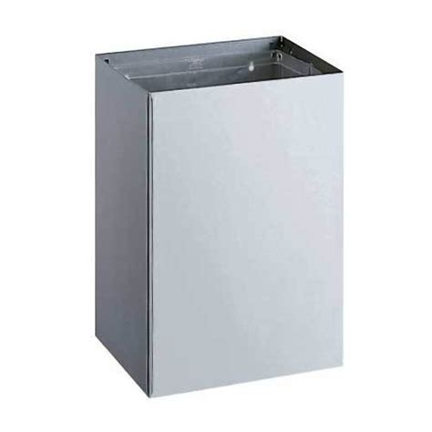 bobrick classic series stainless steel 20 gallon waste