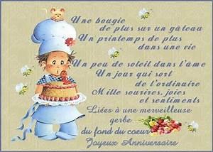 Carte Anniversaire Pour Enfant : carte anniversaire pour son fils tasyafiolarara web ~ Melissatoandfro.com Idées de Décoration