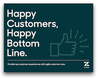 happy customers happy bottom  zendesk library