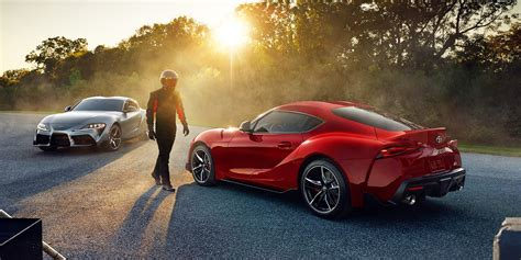 toyotas newly rebooted supra sports car super bowl ad