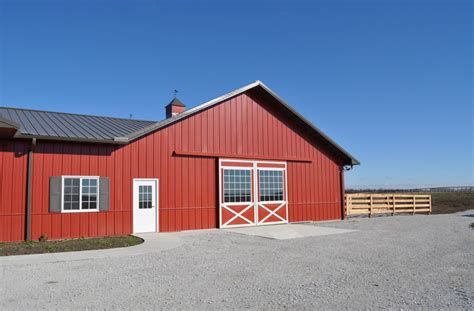 what is a pole shed what is the ideal choice for your pole barn door
