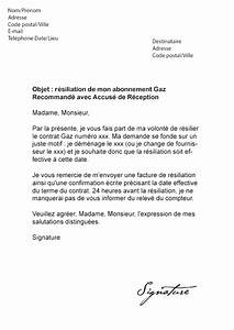 exemple contrat de location meuble 10 lettre de With resiliation contrat location meuble