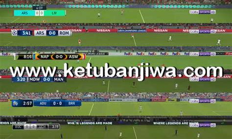 pes 2018 default scoreboards tv logo by txak